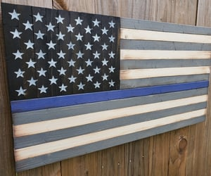 etsy, policeofficergift, and policeflag image