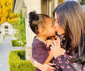 new, kylie jenner, and stormi webster image