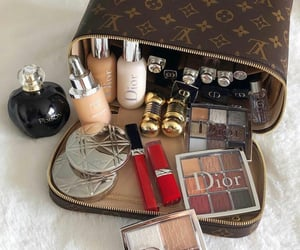 dior, Louis Vuitton, and make up image