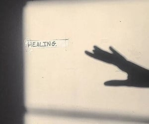 healing, shadow, and aesthetic image