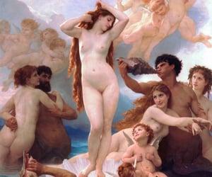 art, god, and lady image