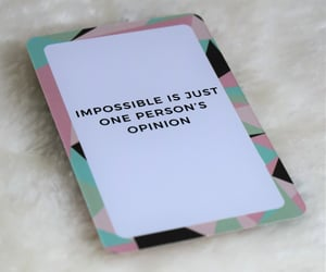 impossible, inspiration, and motivation image