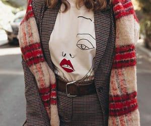 check, tartan, and fashion image