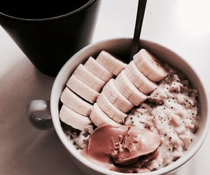 breakfast, oatmeal, and food image