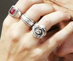 Harry Styles and rings image