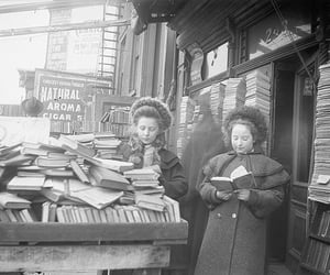 girl and books image