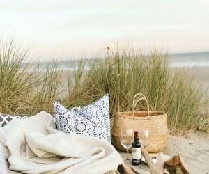 beach, coast, and evenings image
