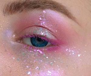 aesthetic, eyeshadow, and glitter image
