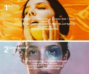 quotes, songs, and halsey image