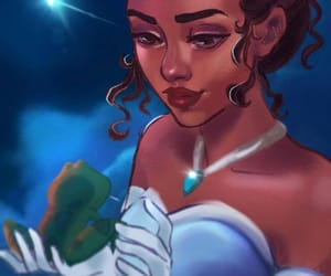 beuty, princess, and tiana image