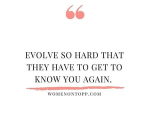 evolve, grow, and inspiration image