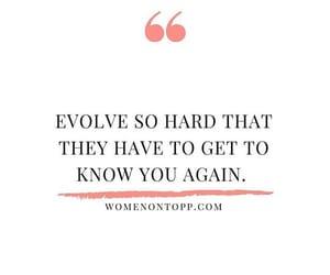 evolve, grow, and inspiration image