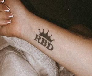 girls, RBD, and tattoo image