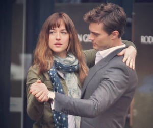 forever, fifty shades, and love image