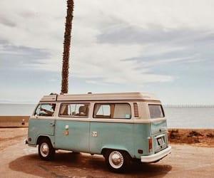 adventure, palm tree, and roadtrip image