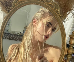blonde, fashion, and hairstyle image