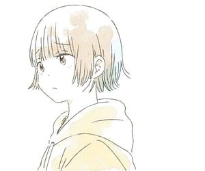 anime girl, art, and hoodie image