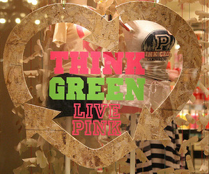 pink, green, and Victoria's Secret image