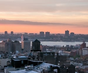 beautiful, evening, and nyc image