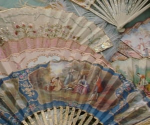 fan, aesthetic, and vintage image