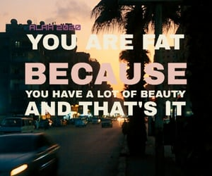 hi, love yourself, and quote image