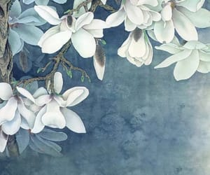 flowers, art, and background image