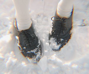 snow, oxfords, and shoes image