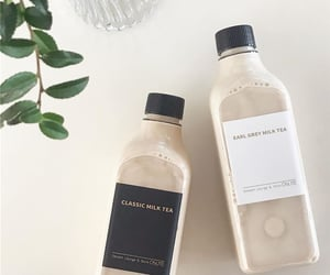 drink, earl grey, and food image