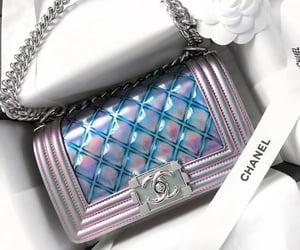 bag, handbag, and chanel image