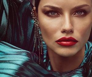 Adriana Lima, Maybelline, and model image