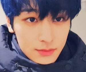 blue hair, tbz, and handsome image