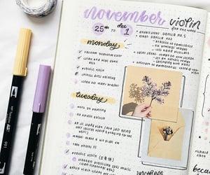 november, plans, and week image