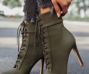 boots and high heels shoes image