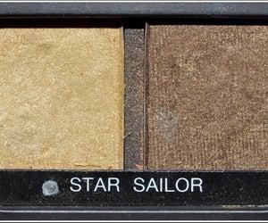 eyeshadow, makeup, and brown image