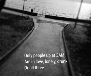 drunk, in love, and lonely image