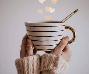 drink, heart, and warm image