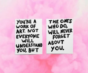 are, pink, and quote image