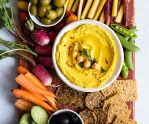 hummus, vegan recipe, and vegan image