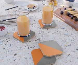 coasters, orange, and sales image