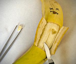 banana and heart image