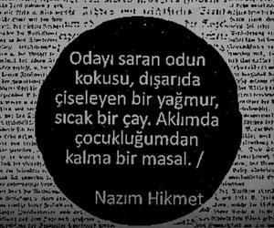 nazım hikmet ran, alıntı, and türkçe sözler image