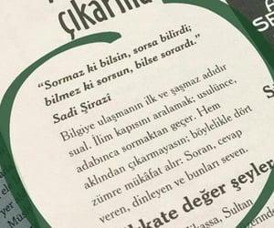 alıntı, türkçe sözler, and insan ve hayat image