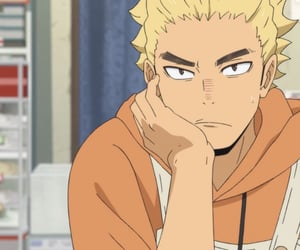 anime, haikyuu, and ukai image