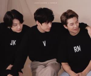 gif, jungkook, and rm image