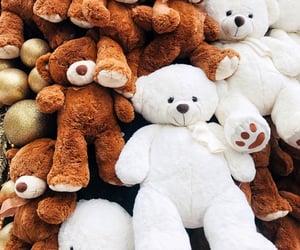 bears, christmas, and gifts image