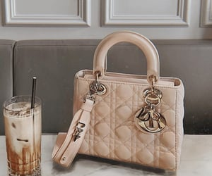 bag, dior, and drink image