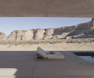desert, pool, and sand image
