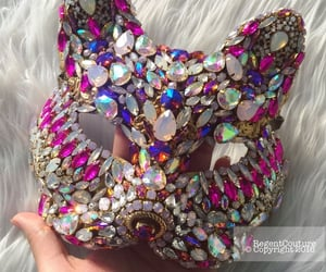 bling, rave, and mask image