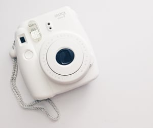 aesthetic, soft, and instax mini image