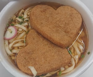 heart, japanese food, and noodle image